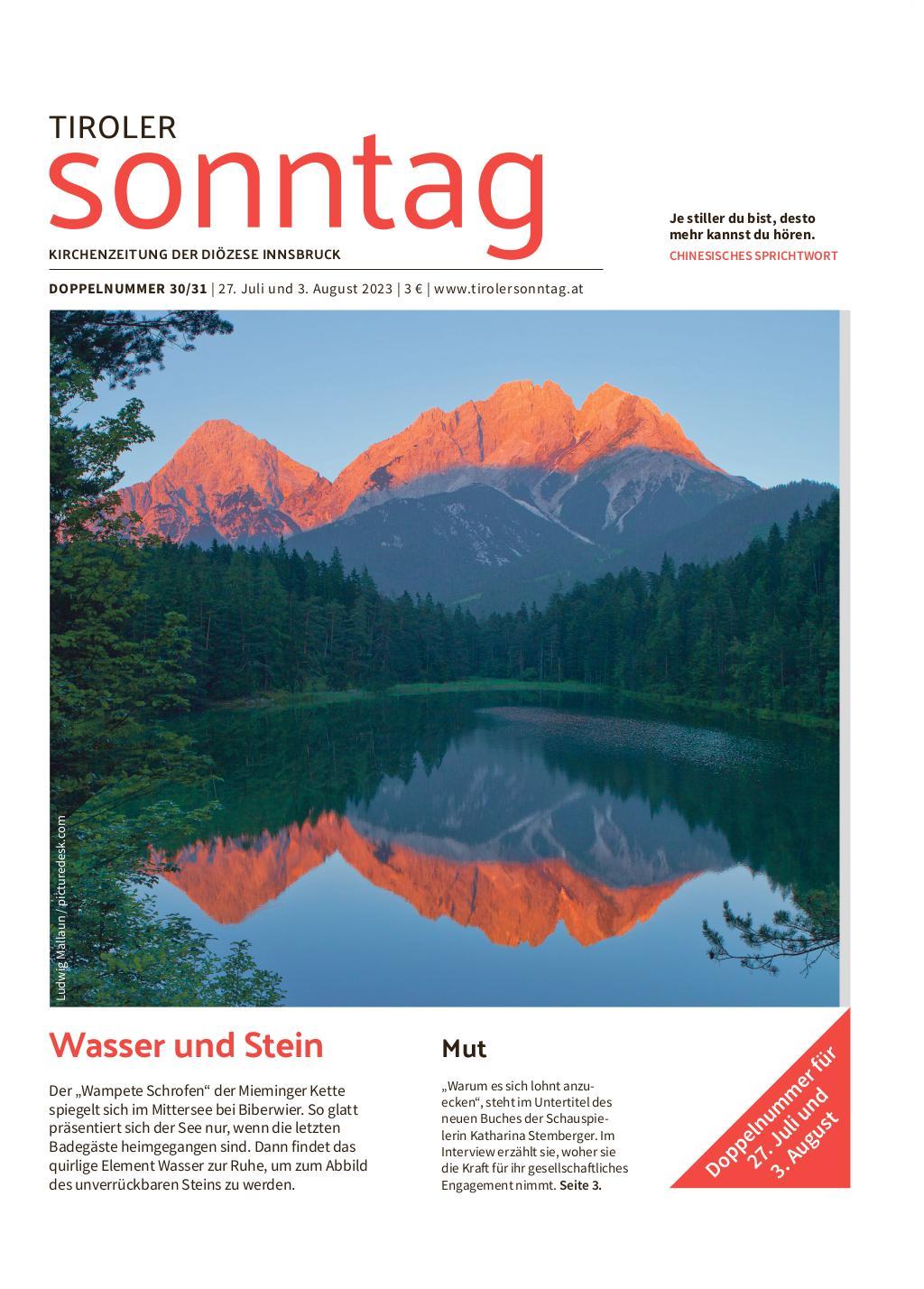 Tirol | TIROLER Sonntag
