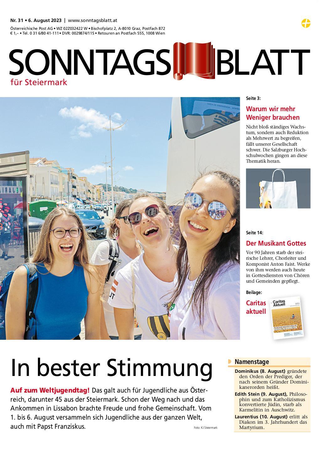 Steiermark | SONNTAGSBLATT