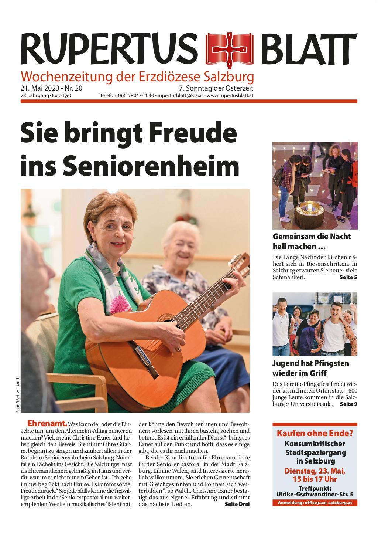 Salzburg & Tiroler Teil | RUPERTUSBLATT